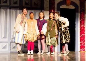 The female cast members (Photo courtesy Ivan Finkle/UHEF)