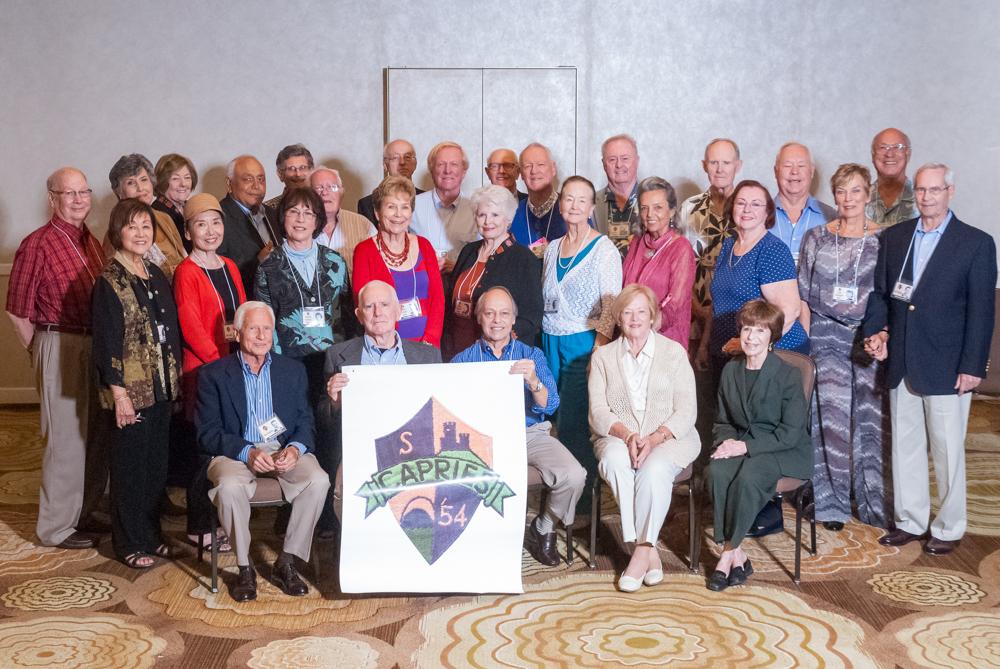 The Uni Class of 1954 60-Year Reunion (Photo courtesy Michaela Foley)
