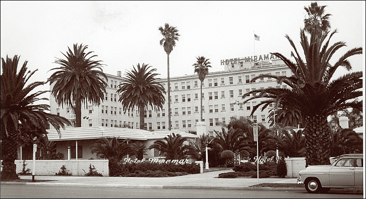 The Hotel Miramar in the 1950s