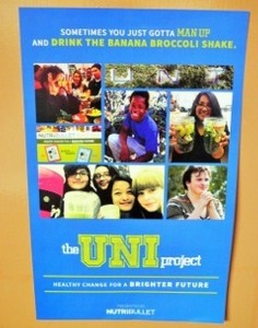 """""""The Uni Project"""" screening poster"""