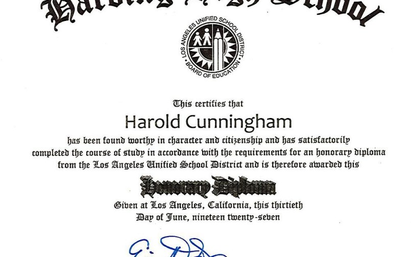 Honorary Degree Bestowed On 103 Year Old Former Harding High Student