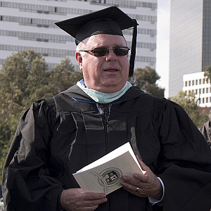 Uni Principal Eric Davidson